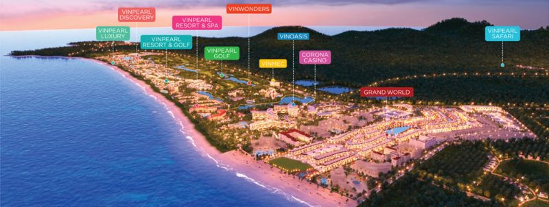 Grand World Phú Quốc sẽ được vận hành bởi Vinpearl