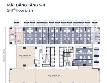 Mat bang tang dien hinh tu tang 15 den tang 21 360x280 - Chung Cư lancaster luminaire