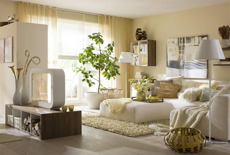 Mot khong gian xanh than thien voi thien nhien la diem cuon hut cua thiet ke Eco - [ Top 12 + ] Mẫu thiết kế nội thất chung cư tại Hà Nội đẹp nhất