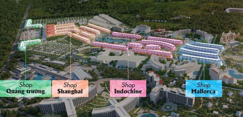 Phân khu Shophouse Grand World Phú Quốc