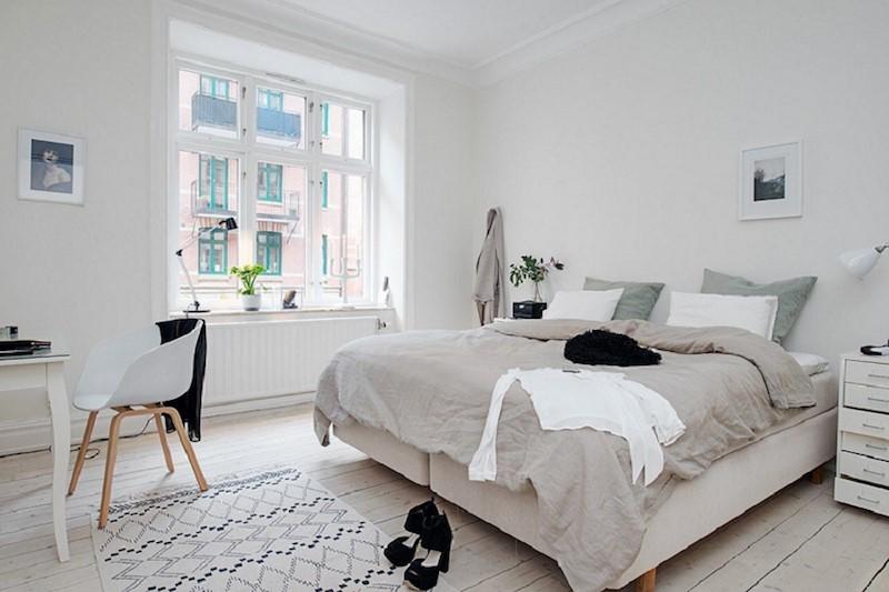 Phong cach thiet ke noi that Scandinavian noi bat voi mau trang chu dao - [ Top 12 + ] Mẫu thiết kế nội thất chung cư tại Hà Nội đẹp nhất