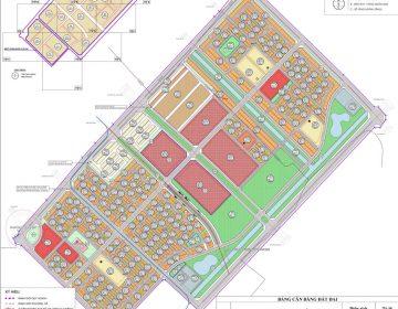 Quy hoạch Chi tiết xây dựng tỷ lệ 1/500 khu chức năng đô thị Green City Vinhome Đan Phượng