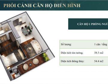 Thiet ke can ho 1 phong ngu 360x280 - Chung cư Sunshine Green Iconic