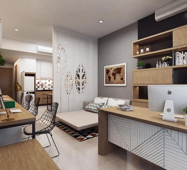 Thiet ke can ho van phong Officetel - Kim Chung Di Trạch