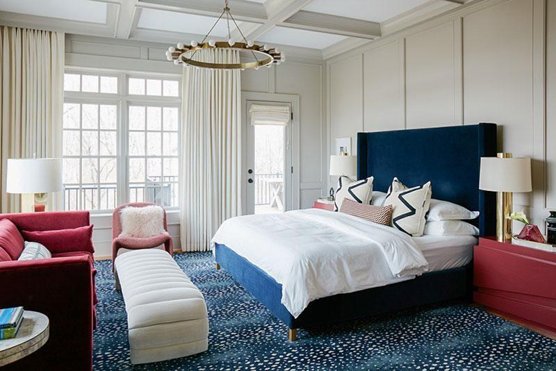 Thiet ke phong ngu theo kieu tan co dien dem den cam giac hai hoa - [ Top 12 + ] Mẫu thiết kế nội thất chung cư tại Hà Nội đẹp nhất