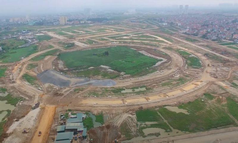 Tiến độ dự án Kim Chung Di Trạch 2020