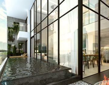To hop biet thu tren khong Sky Villas bo tri tu tang 4 den tang 38 360x280 - Sunshine Crystal River