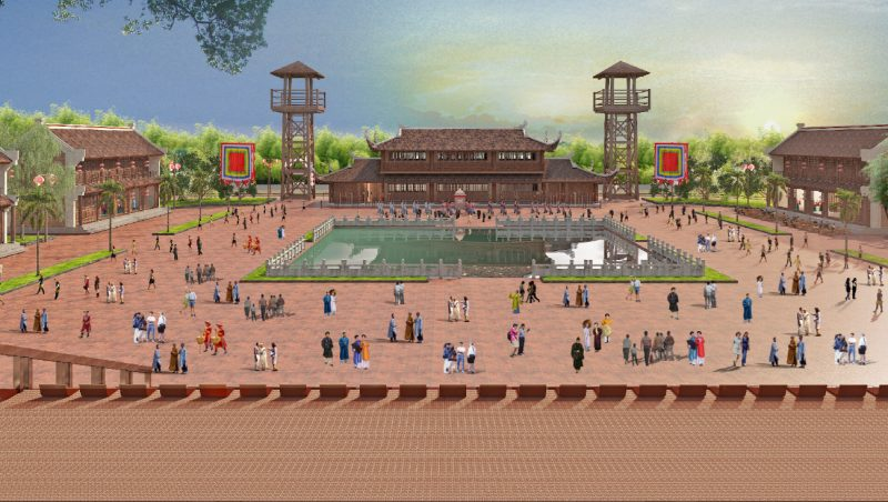 Việt Nam cổ trấn Grand World Phú Quốc