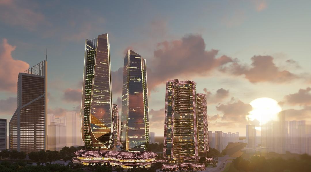 Kiến trúc thượng thừa của dự án sunshine empire