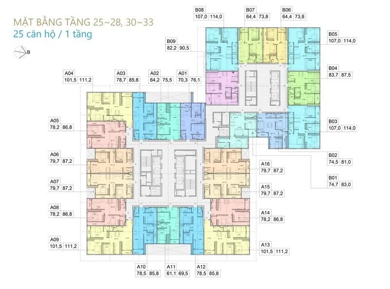 phan tich mat bang tong the va chi tiet cua BID Residence min - BID Residence Văn Khê Hà Đông | Giá Bán Căn Hộ Chung Cư & Tiến Độ