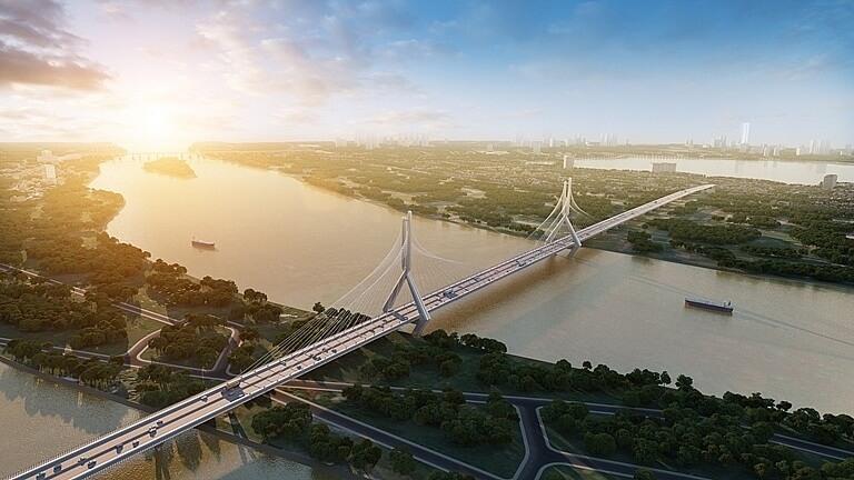 Cầu Tứ Liên - Biểu tượng mới của Hà Nội