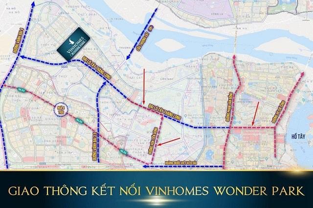 Có vị trí thuận lợi với nhiều tuyến đường chạy qua