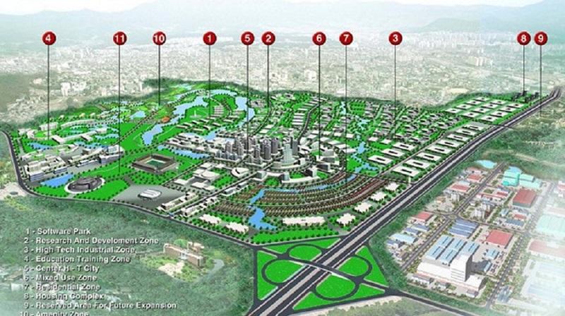 Dự án Vinhomes Hòa Lạc đang nổi bật trở thành tâm điểm tại thủ đô hiện nay