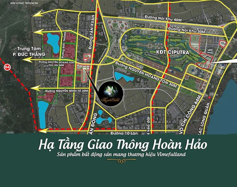 Giao thong du an - The Jade Orchid