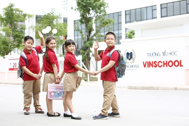 Truong hoc Vinschool - Vinhomes Cổ Loa