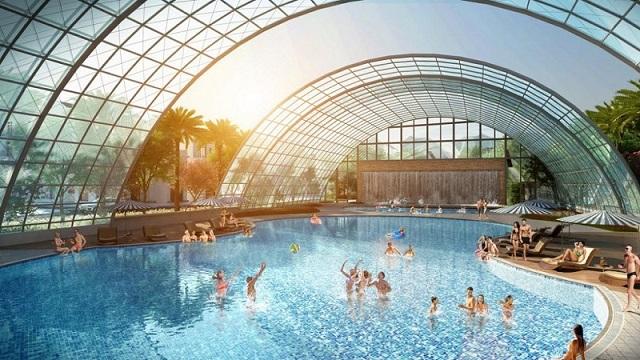 Bể bơi Vinhomes Đan Phượng