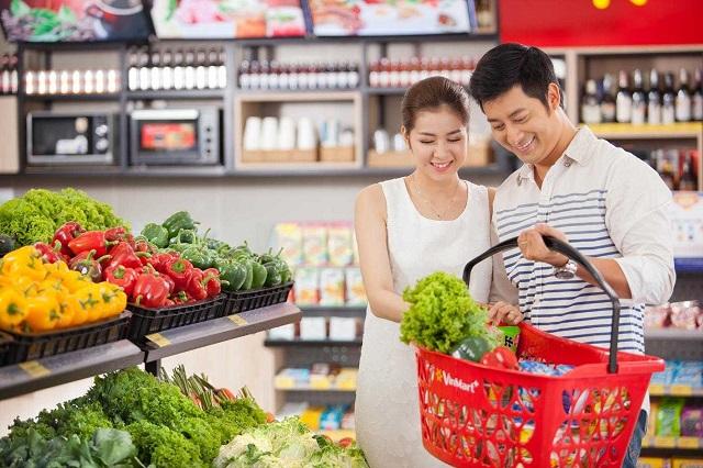 Hệ thống siêu thị Vinmart cung cấp đầy đủ thực phẩm sạch