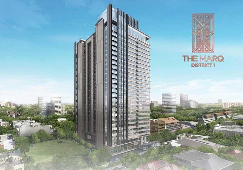 Căn hộ chung cư quận 1 The Marq của Hongkong Land