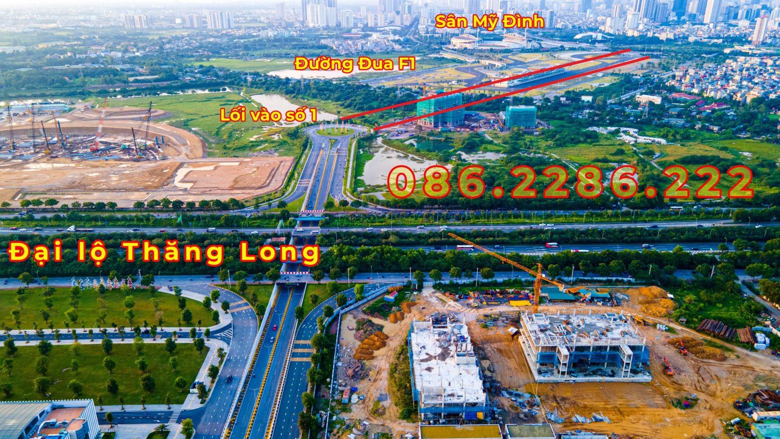 Đoạn đường nối Smart City với đường đua F1