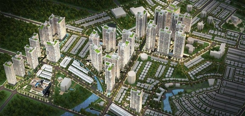 Dự án căn hộ chung cư quận 2 Laimian City