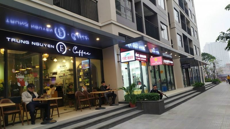 Shop tại Vinhomes Smart City với đủ các dịch vụ