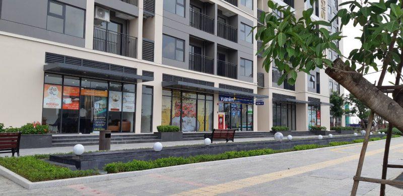 Shophouse khối đế Vinhomes Smart City