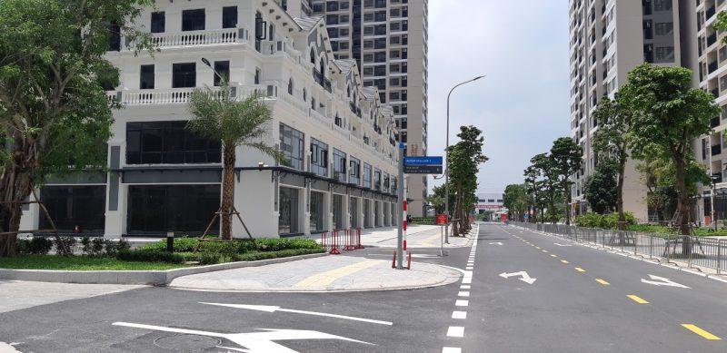 Shophouse thương mại dịch vụ Vinhomes Smart City