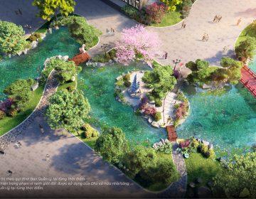 Vườn Nhật The Zenpark Vinhomes Ocean Park
