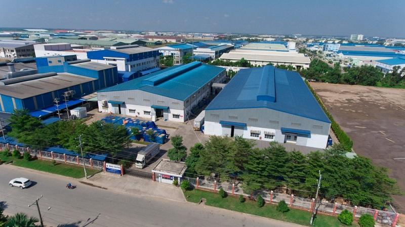 Cơ sở hạ tầng KCN Tân Phú được đầu tư chất lượng hàng đầu hiện nay