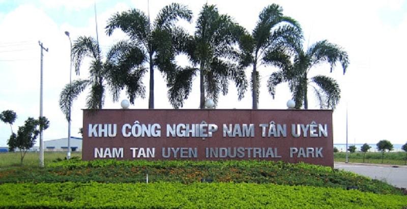 Cổng khu công nghiệp Nam Tân Uyên