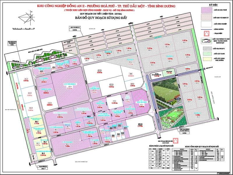 Đất nền khu công nghiệp (KCN) Đồng An II