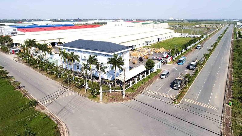 KCN Tân Phú sở hữu hệ thống giao thông vô cùng thuận lợi