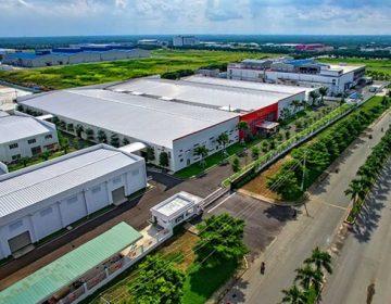 KCN Mai Trung được đánh giá là có vị trí thuận lợi trong việc sản xuất kinh doanh