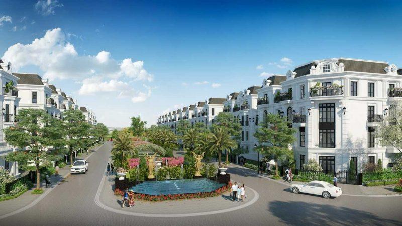 Nhà liền kề Vinhomes Dream City - Nhà liền kề Vinhomes Hưng Yên