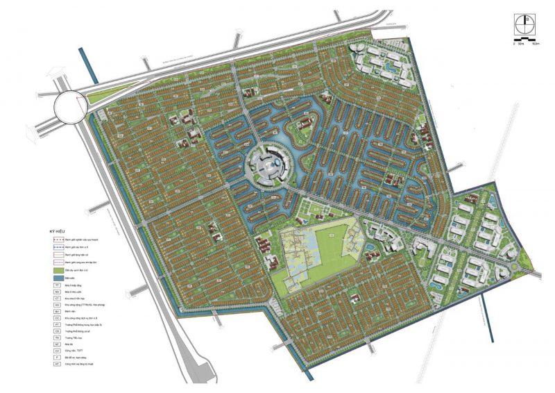 Quy hoạch dự án Vinhomes Dream City Hưng Yên