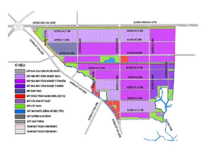 Quy hoạch khu công nghiệp Nam Tân Uyên Mở Rộng