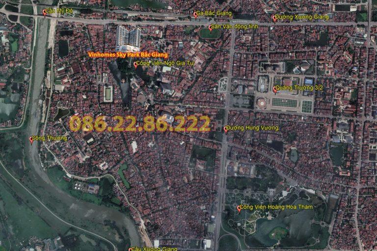 Vị trí Vinhomes Bắc Giang Sky Park