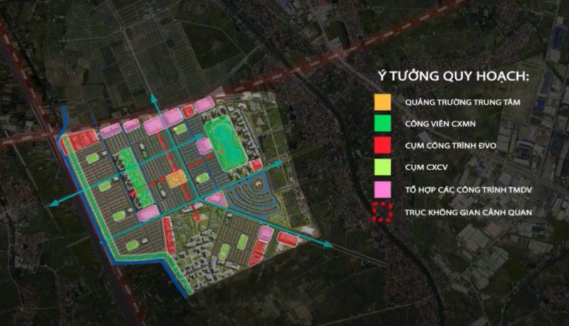 Ý tưởng quy hoạch Vinhome Dream City
