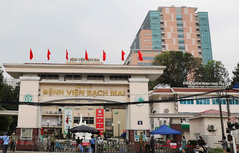 Bệnh viện Bạch Mai là trung tâm chăm sóc sức khỏe hàng đầu tại Việt Nam
