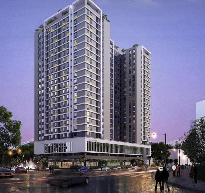 Đánh giá mặt bằng dự án Rice City Thượng Thanh