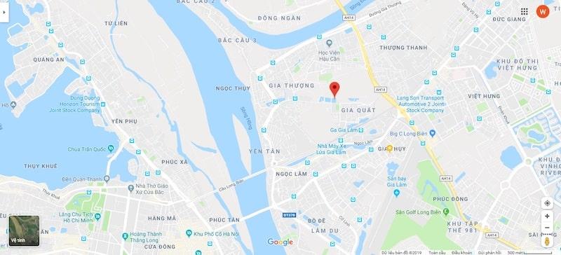 Đánh giá vị trí xây dựng của dự án nhà ở xã hội Rice City Thượng Thanh