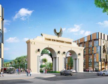Dự án đất nền biệt thự, liền kề Thanh Sơn Riverside Garden được đầu tư bởi công ty Lân Huế