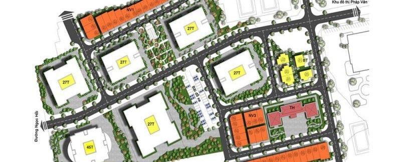 Dự án nhà ở xã hội Hạ Đình có khả năng liên kết với nhiều khu vực trọng điểm