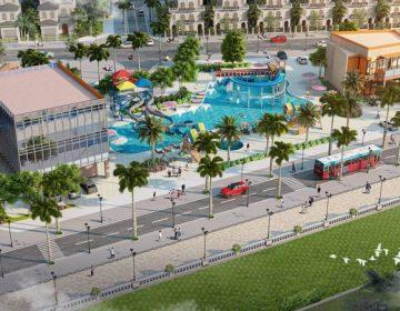 Hạ tầng kỹ thuật của dự án Thanh Sơn Riverside Garden được đầu tư vô cùng bài bản