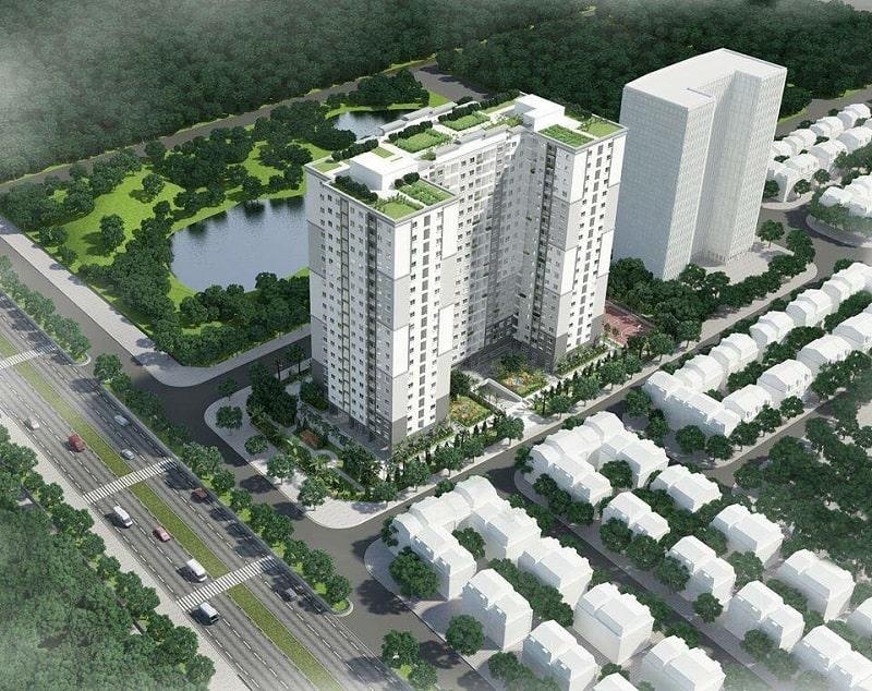 Hệ thống giao thông xung quanh khu vực dự án nhà ở xã hội Hạ Đình