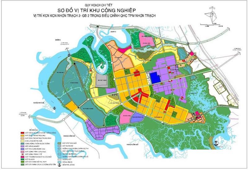Khu công nghiệp Nhơn Trạch II - Lộc Khang sở hữu vị trí địa lý vô cùng thuận lợi