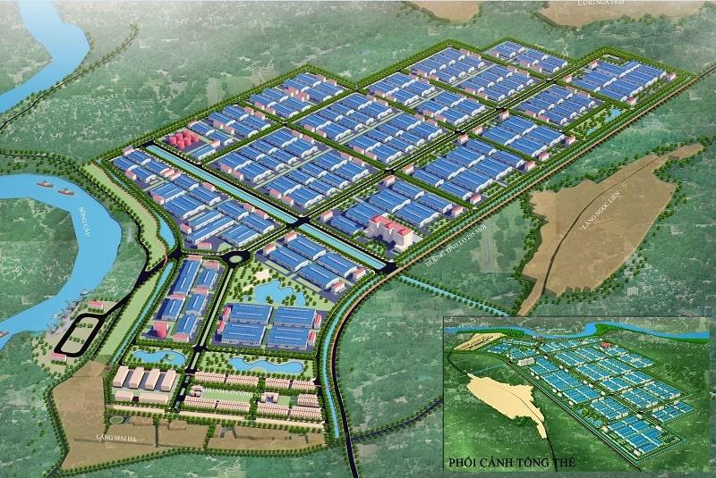 Lợi thế về giao thông là điểm nổi bật của KCN Hòa Phú