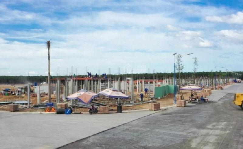 Phổ giá tham khảo đất nền khu công nghiệp Lộc An - Bình Sơn