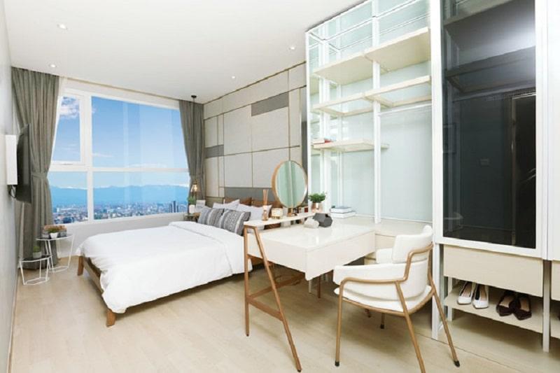 Thiết kế căn hộ NOXH Hạ Đình vừa có sự hiện đại nhưng không kém tinh tế, nhẹ nhàng
