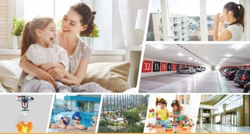Tiện ích nổi bật có tại dự án nhà ở xã hội Rice City Thượng Thanh